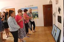 Vernisáž výstavy autorských prací Štěpána Rubáše.