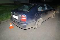 Jednačtyřicetiletý řidič naboural auto v obci Rybník.