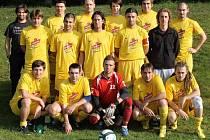 Fotbalisté TJ Start Tlumačov A zažili skvostný podzim v I. B třídě. Druhé místo v tabulce bude na jaře těžké obhájit.