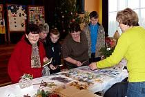 Z Vánoční výstavy 2014 ČZS Holýšov.