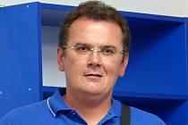 Trenér Petr Churý.