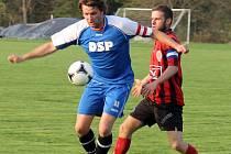 Z utkání fotbalistů Sokola Mrákov A s FC Dynamo H. Týn B.