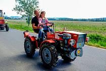 Setkání traktorů a zemědělské techniky v Postřekově.