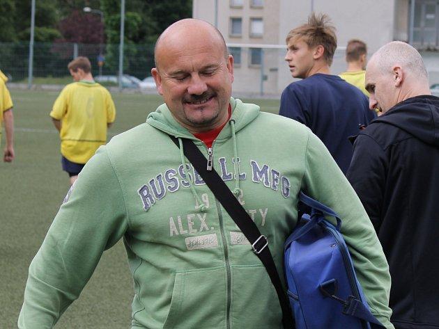 Trenér Milan Dejmek.