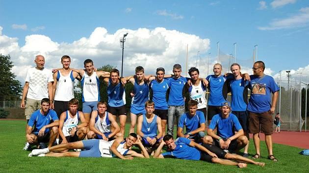 Družstvo mužů AC Domažlice.