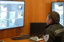 Domažličtí strážníci ke své práci využívají i kamerový systém.