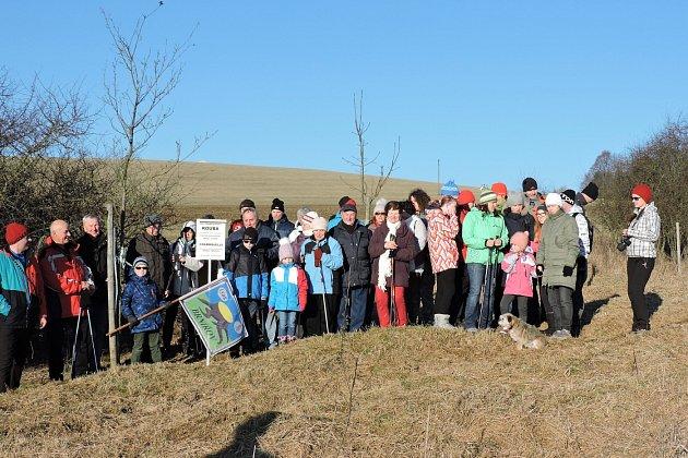 Společná fotografie účastníků pochodu.