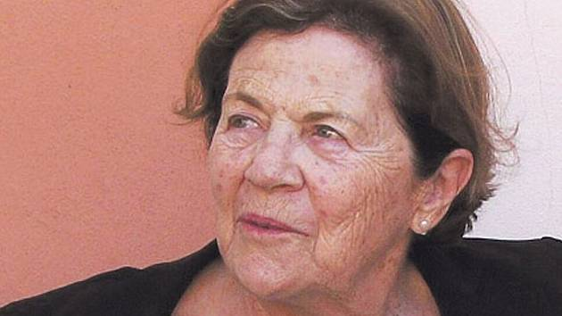 Současné foto Evy Erbenové.