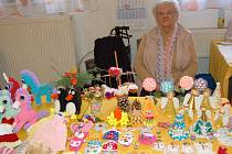 Vánoční výstava Seniorského klubu Domažlice v sokolovně.