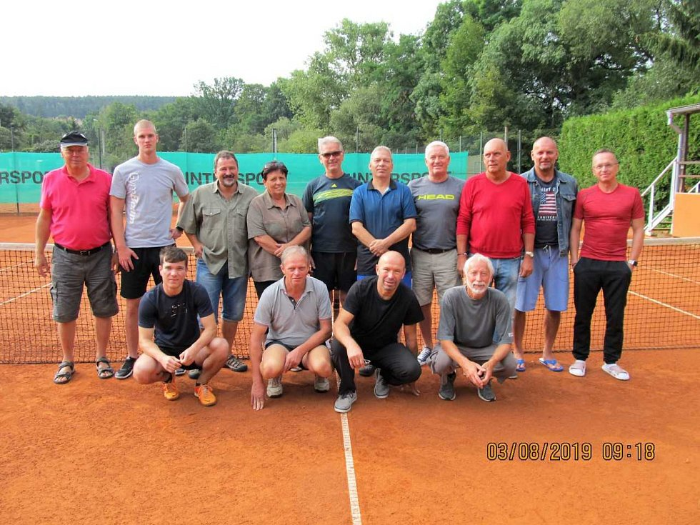 Sobota (9.00): Tenisový turnaj čtyřher ze seriálu Dotiko Tenis Tour 2020 ve Waldmünchenu.