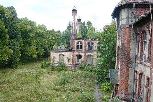 Sanatorium Beelitz Heilstatten.