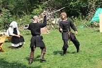 Na hradě Rýzmberk se opět bojovalo.