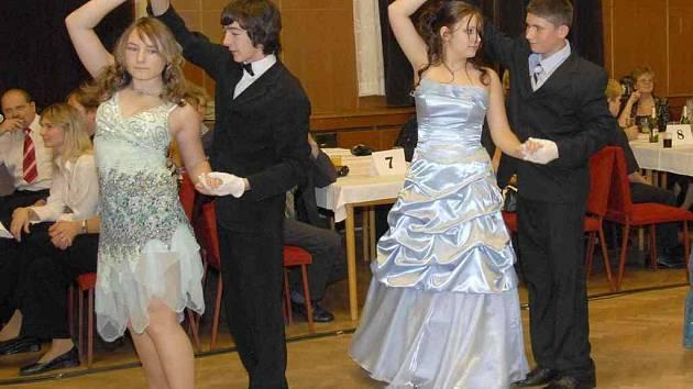 Mladí tanečníci to občas nemají lehké.