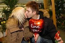Den zamilovaných. Ilustrační foto.