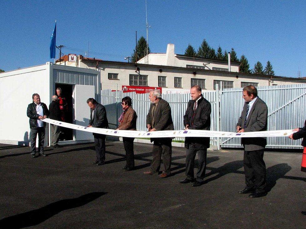 Z otevření nového sběrného dvora v Klenčí.