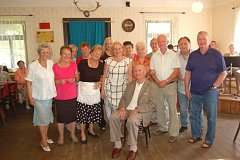 Setkání rodáků a přátel Klenčí ve Vlkanově.