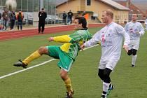 Z utkání fotbalistů Dynamo Horšovský Týn a FC Spartak Chrást.