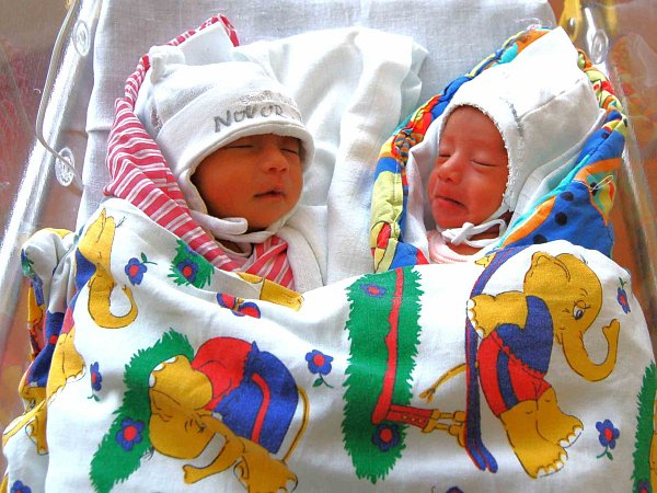 Vanesa a Veronika Nguyenovy.