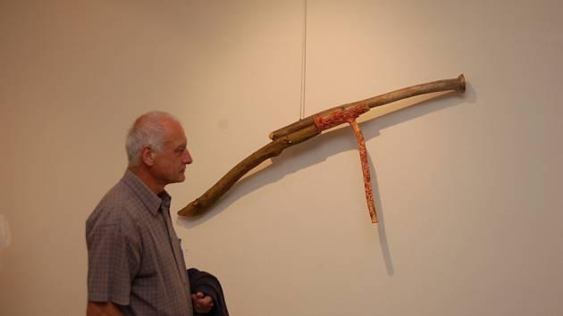Vernisáž výstavy v Galerii bratří Špillarů Domažlice.