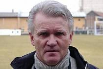Trenér Jaromír Mysliveček.