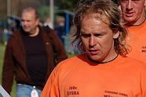 Fotbalista Roman Baxa ještě v dresu Slavoje Koloveč.
