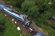 Srážka vlaků na Domažlicku