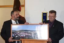 Oslava partnerství, které od podpisu smlouvy mezi městy trvá už 15 let.