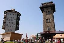 Ze sobotního setkání turistů na Čerchově.