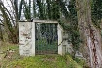 Ze židovského hřbitova v Poběžovicích.