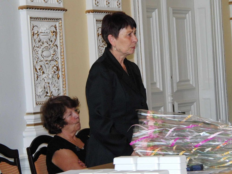 Z oceňování dárců krve v Domažlicích.