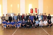 Účastníci 5. ročníku Memoriálu Jana Paula ve Staňkově.