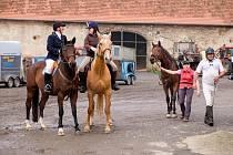 Na Školním statku v Horšově každoročně startuje i Hubertova jízda. Jaký bude osud této tradice se zatím neví.