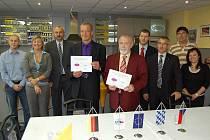 Domažlické učiliště uzavřelo dohodu se společností Wilden.
