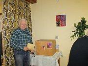 Komunální volby 2018 na Klatovsku - třiaosmdesátiletá Marie Kroupová z Předslavi chodí k volbám pravidelně