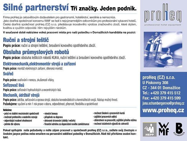 proHeq (CZ) s.r.o./reklama