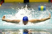 Domažlický rodák a český reprezentant v plavání Martin Verner.