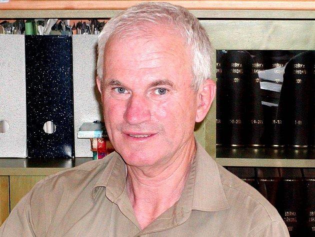 Ředitel Domažlických městských lesů Jan Benda.