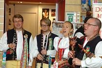 Ze čtvrteční návštěvy chodské delegace v Praze.
