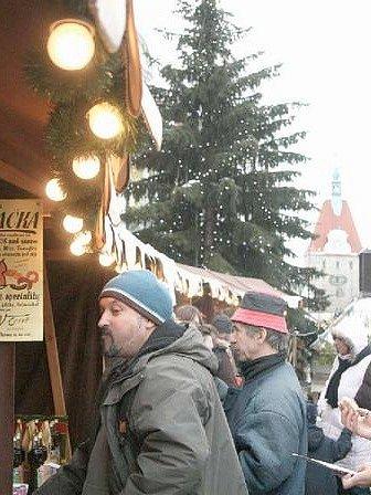 Vánoční trh v Domažlicích