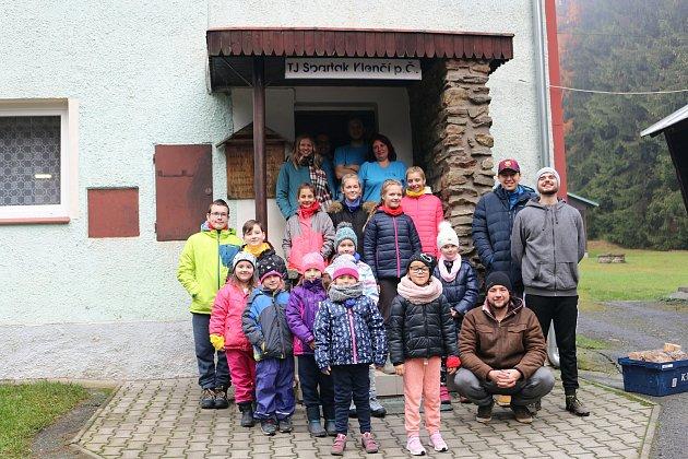 Víkendový pobyt vCaparticích si děti užily. Foto: Kamila Bendová