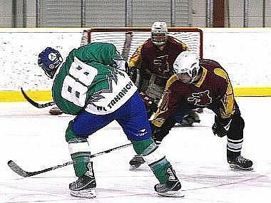 Ilustrační snímek z utkání HC Trhanov.