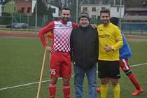 Ivo Vojtko (vpravo ve žlutém) na archivním snímku.