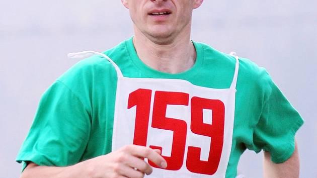 Zdeněk Forster na snímku ze závodu Běh osvobození v Dílích.
