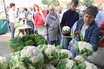 Farmářské trhy budou 21. srpna i v Domažlicích.