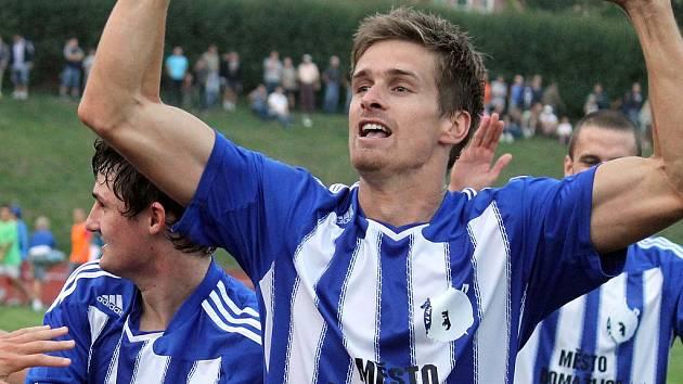Fotbalista Milan Braun.