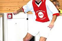 Futsalista Ajaxu Staňkov Tomáš Bozděch.