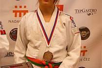 Kamila Forstová z Judo Clubu Domažlice.
