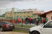 Otevření víceúčelového hřiště ve Staňkově.