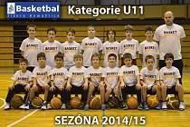 Tým Basketbal Jiskra Domažlice U11.