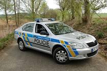 Policejní vůz. Ilustrační foto.